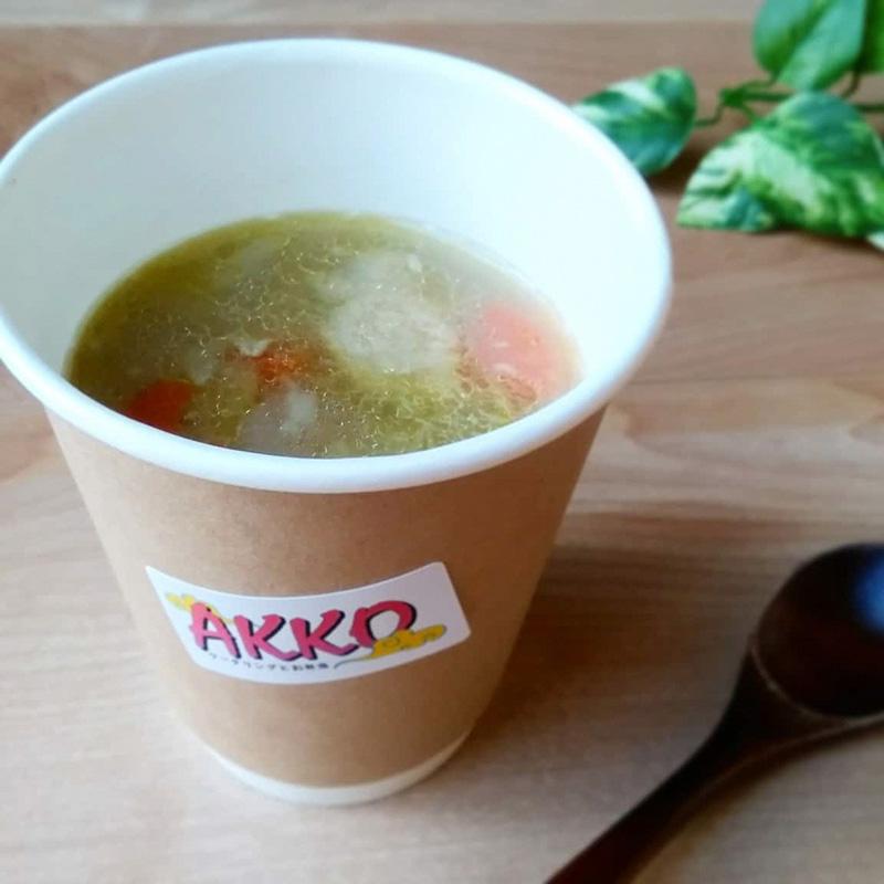 とろとろやくぜんスープ(冬季限定)