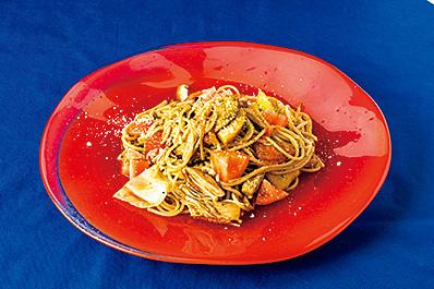 エゴマのスパゲッティ