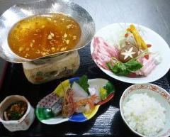 立山ポークとやく膳鍋(ランチ)